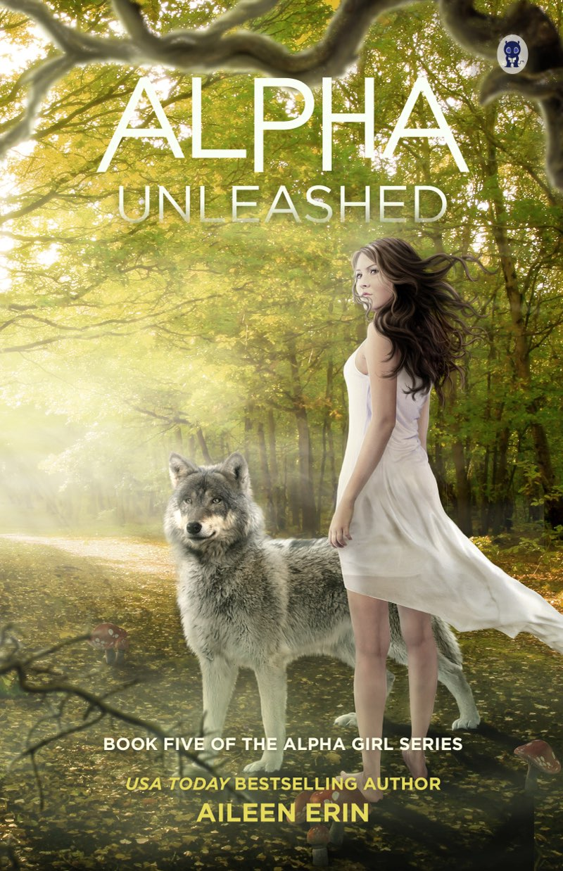 This image is the cover for the book Alpha Unleashed, Alpha Girl