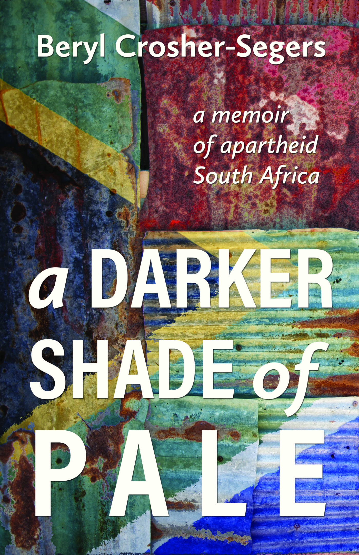 This image is the cover for the book A Darker Shade of Pale