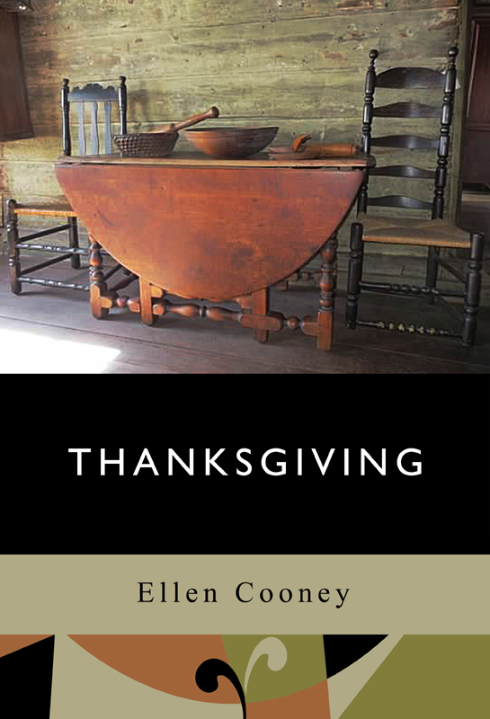 This image is the cover for the book Thanksgiving