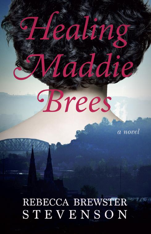 This image is the cover for the book Healing Maddie Brees
