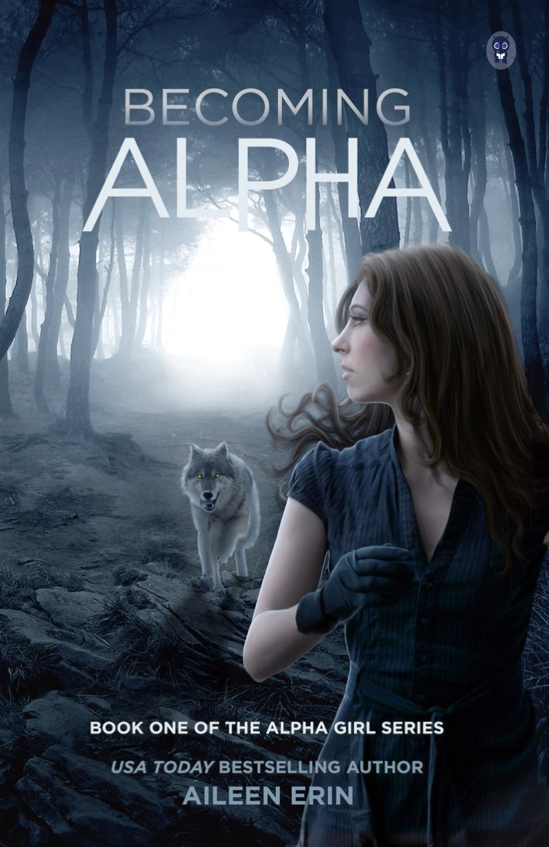 This image is the cover for the book Becoming Alpha, Alpha Girls