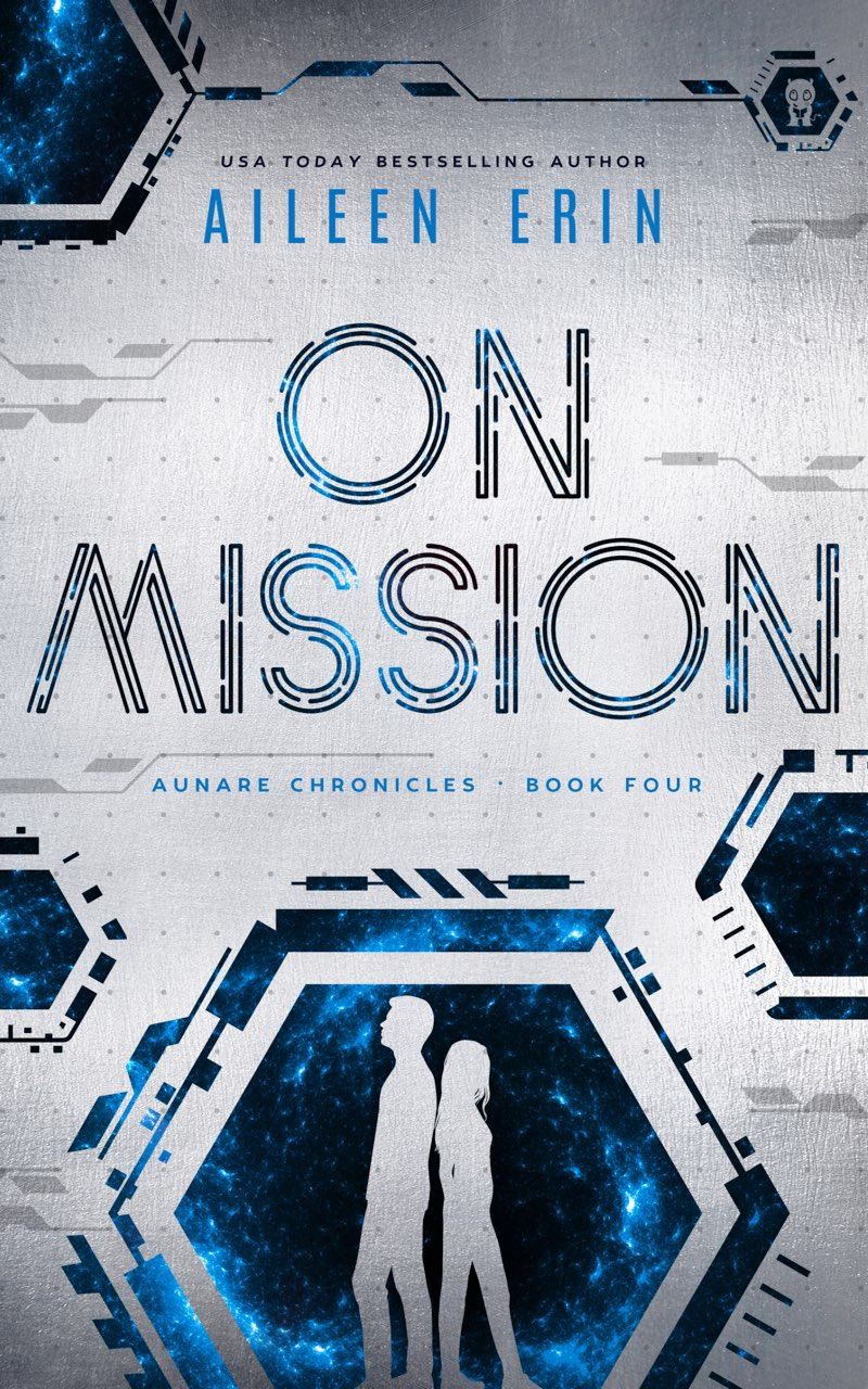 This image is the cover for the book On Mission, Aunare Chronicles
