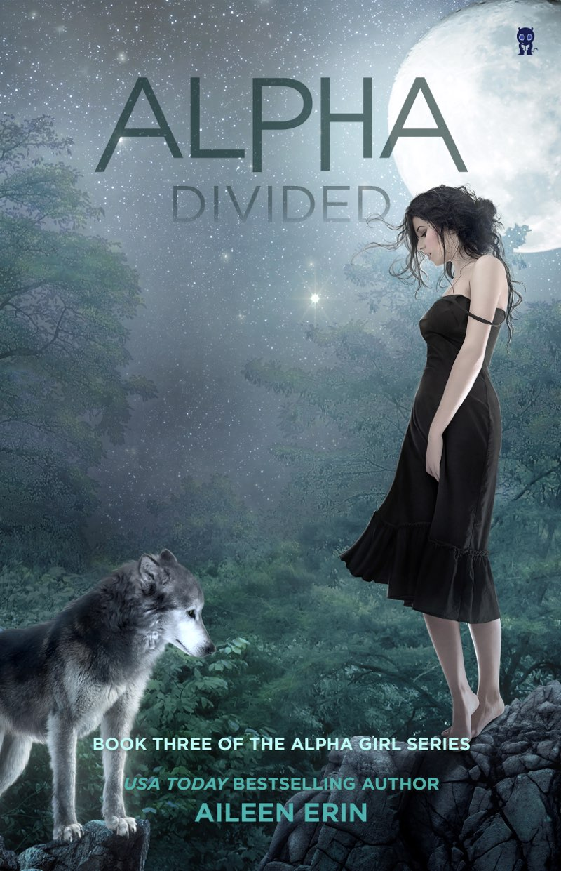 This image is the cover for the book Alpha Divided, Alpha Girls