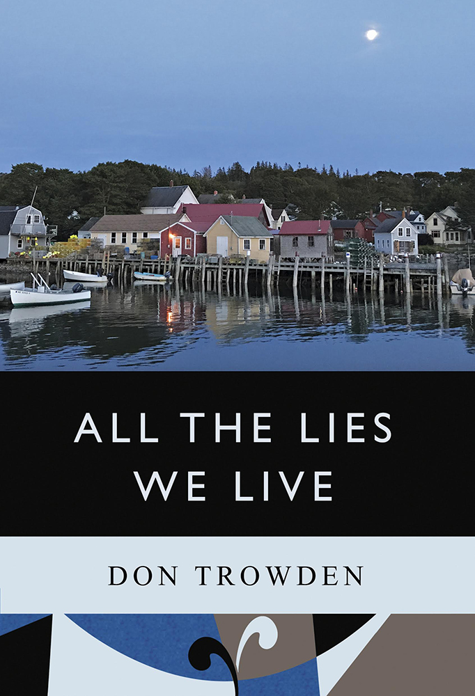 This image is the cover for the book All The Lies We Live